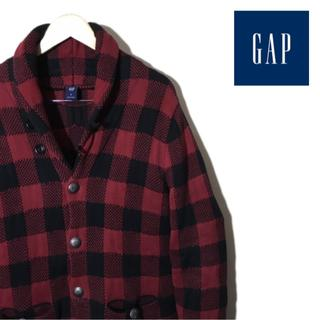 GAP - GAP custom checkered cardigan