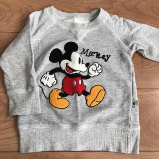 ミッキーマウス(ミッキーマウス)のミッキー トレーナー スウェット(Tシャツ/カットソー)