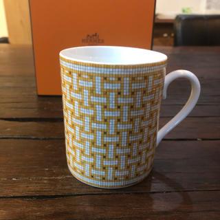 エルメス(Hermes)のエルメス 食器 モザイク マグカップ 未使用(グラス/カップ)