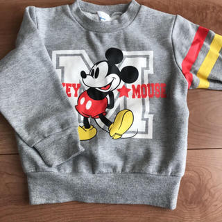 ミッキーマウス(ミッキーマウス)のミッキー スウェット トレーナー(Tシャツ/カットソー)