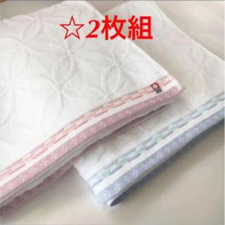 《今治タオル》真っ白 バスタオル2枚組☆ロゴあり☆アウトレット