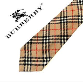 BURBERRY - burberry  バーバリー チェック柄 ネクタイ スーツ シャツ