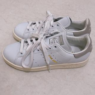 adidas - adidas スタンスミス グレー×ホワイト 23.5 美品