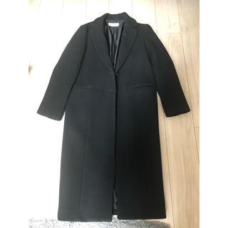 スライ(SLY)の【格安】SLY ウールロングコート ブラック サイズ1(ロングコート)