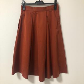 ザラ(ZARA)のZARA サテンフレアスカート(ひざ丈スカート)