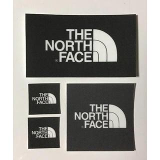 ザノースフェイス(THE NORTH FACE)のTHE NORTH FACE ワッペン 長方形1枚 大1枚 小2枚(ニット/セーター)
