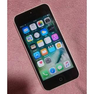 iPhone - iPhone5c 32GB au 液晶フロントパネル新品交換済み!