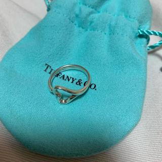 ティファニー(Tiffany & Co.)のTiffanyオープンハートリング(リング(指輪))