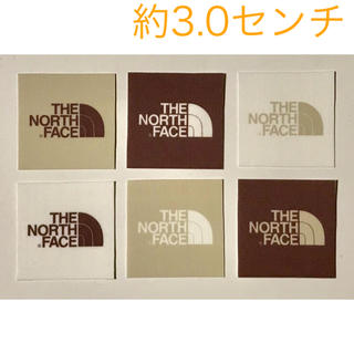 THE NORTH FACE - THE NORTH FACE ワッペン ブラウンタグ 中 6枚