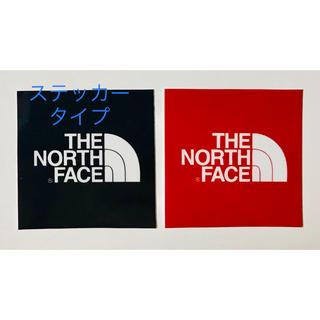 THE NORTH FACE - THE NORTH FACE ステッカー 人気色 2枚