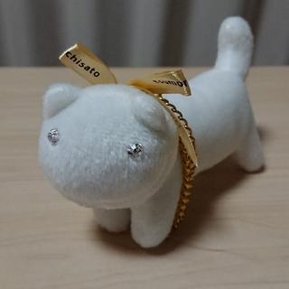 TSUMORI CHISATO - ツモリチサト ネコ チャーム 白