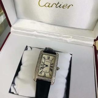 Cartier - cartier タンク アメリカン ウォッチ