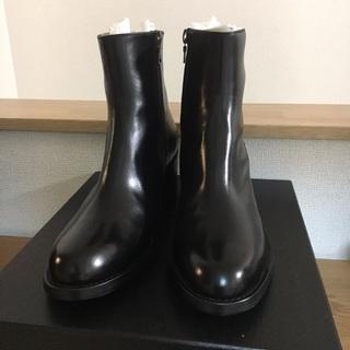 ドリスヴァンノッテン(DRIES VAN NOTEN)のDries Van Noten 黒革 ブーツ(ブーツ)