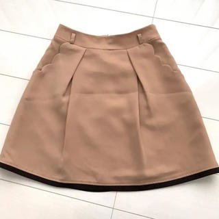 Chesty - 美品♡  スカラップポケット フレアスカート