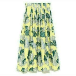 FRAY I.D - FRAY ♡フラワー ジャガード スカート