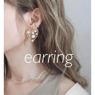 Ameri VINTAGE - import  Heart earrings