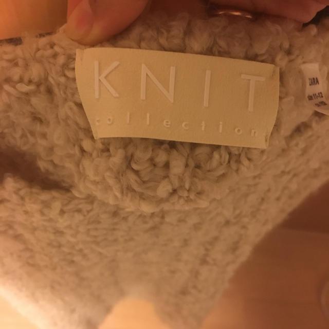 ZARA(ザラ)のZARA リボン付きクロップド丈セーター レディースのトップス(ニット/セーター)の商品写真