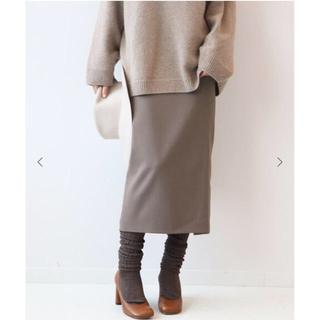 プラージュ(Plage)の値下げ 新品タグつき バックシャンストレッチタイトスカート(ひざ丈スカート)