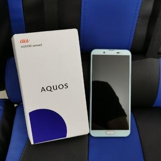 SHARP - 【au】AQUOS sence2  ライトグリーン