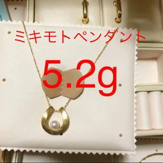 MIKIMOTO - 吉君様専用ミキモトk18パールネックレス  トップ真珠