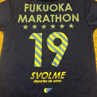 adidas - 福岡マラソン2019 Tシャツ ランニング XS