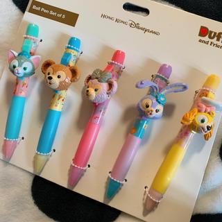 ダッフィー - 新品 香港ディズニー ダッフィーフレンズ ボールペン