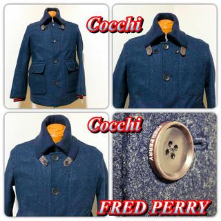 FRED PERRY - 高品質 上品 ウールコート フレッドペリー FredPerry 日本向シルエット