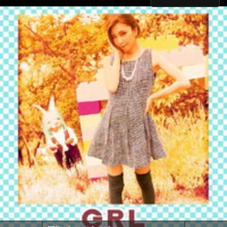 GRL - GRL ツイードワンピース レディ リエンダ セシルマクビー スナイデル