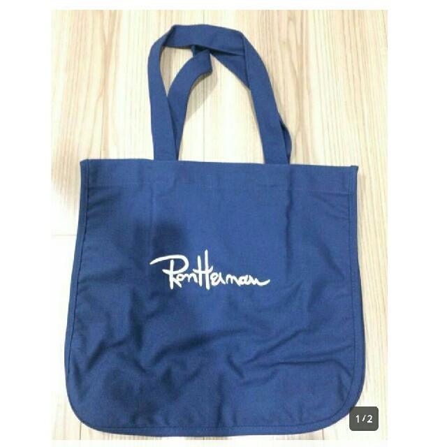 Ron Herman(ロンハーマン)のロンハーマントートバッグ 紺色 メンズのバッグ(トートバッグ)の商品写真