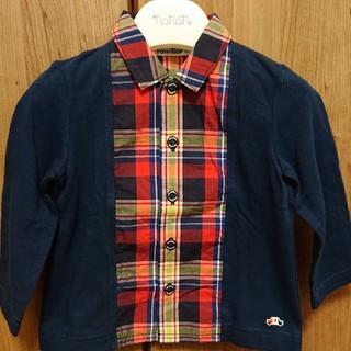familiar - ファミリア シャツ 90cm