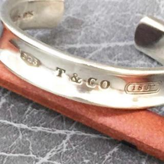 Tiffany & Co. - ティファニー カフバングル 925 1837 総重量 41.2gシルバー