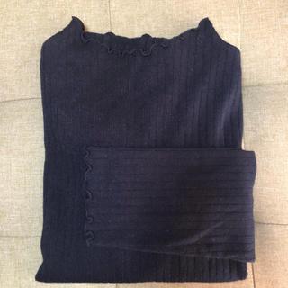 イッカ(ikka)のikka ブラック(シャツ/ブラウス(長袖/七分))