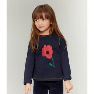 PETIT BATEAU - 19aw☆プチバトー プリント長袖カットソー