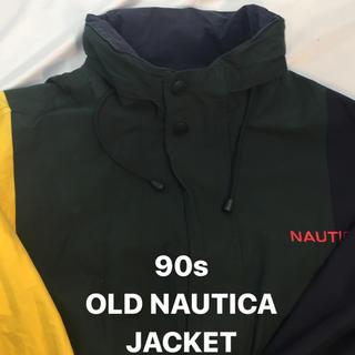 ノーティカ(NAUTICA)のOLD NAUTICA リバーシブルナイロンジャケット size:XXL(ナイロンジャケット)