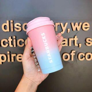 スターバックスコーヒー(Starbucks Coffee)のゆい様専用 海外スターバックス 台湾 エルマ ステンレスタンブラー ストラップ(タンブラー)