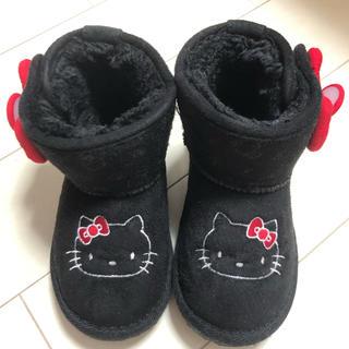 フタフタ(futafuta)のfutafuta キティちゃん ムートンブーツ 15cm(ブーツ)
