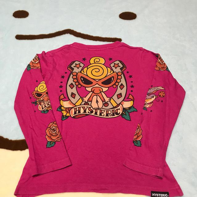 HYSTERIC MINI(ヒステリックミニ)のtattoo(*⁰▿⁰*)ロンT キッズ/ベビー/マタニティのキッズ服 女の子用(90cm~)(Tシャツ/カットソー)の商品写真