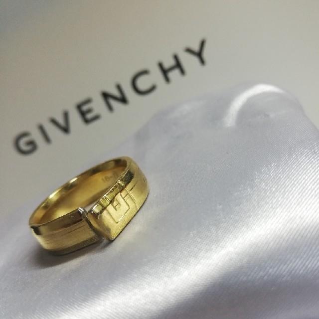 GIVENCHY リング 18号 ゴールド メンズのアクセサリー(リング(指輪))の商品写真