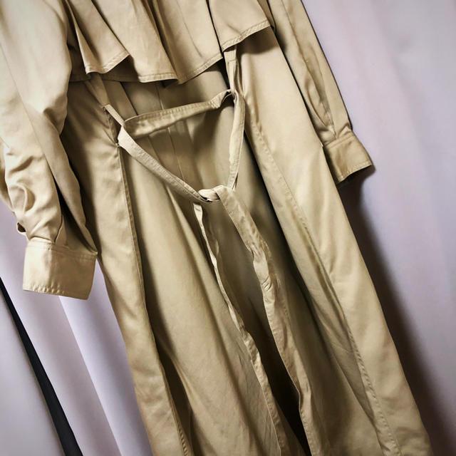 Ungrid(アングリッド)のルーズボリュームスリーブトレンチコート レディースのジャケット/アウター(トレンチコート)の商品写真
