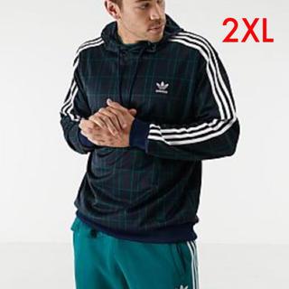 アディダス(adidas)のアディダス オリジナルス XOサイズ タータン フーディ ED7016(パーカー)