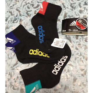 adidas - アディダス ソックス 13〜19  3足 ジュニア  靴下