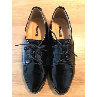 ディーホリック(dholic)の*DHOLIC エナメル調オックスフォードシューズ(ローファー/革靴)
