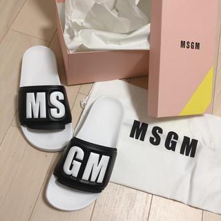 MSGM - 新品♡ MSGM シャワーサンダル ◡̈♥︎
