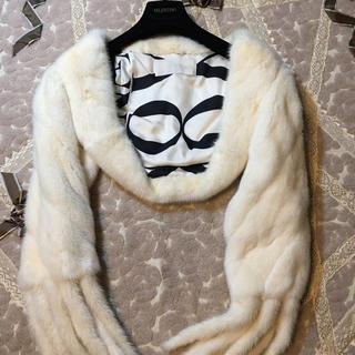 ヴァレンティノ(VALENTINO)の未使用 ヴァレンティノ  最高級 ホワイトミンクボレロ(毛皮/ファーコート)