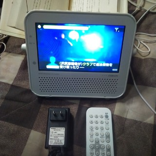 TWINBIRD - ポータブルDVDプレーヤーテレビVD-J719
