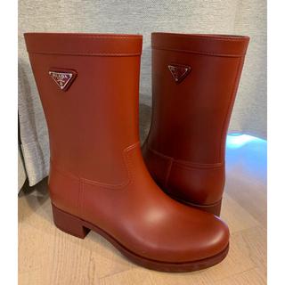 プラダ(PRADA)のPRADAのレインブーツ(レインブーツ/長靴)