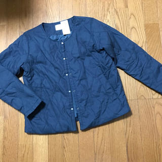 サマンサモスモス(SM2)のタグ付き キルティングジャケット ネイビー(ブルゾン)