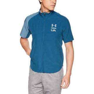 アンダーアーマー(UNDER ARMOUR)の新品 アンダーアーマー  ショートスリーブジャケット XXLサイズ(Tシャツ/カットソー(半袖/袖なし))