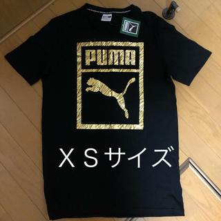 プーマ(PUMA)のプーマ ゴールドロゴ Tシャツ  XS(Tシャツ(半袖/袖なし))