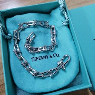 Tiffany & Co. - ティファニー  チェーンブレスレッド  シルバー